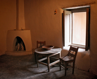 Kit Carson Home Museum Taos New Mexico Preserved