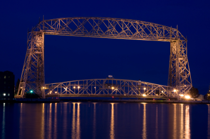 Aerial Lift Bridge Duluth Mn