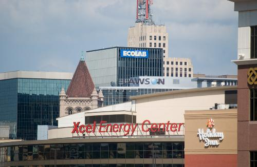 The Corporation Decided To Lend Their Name Xcel Energy Center In St Paul
