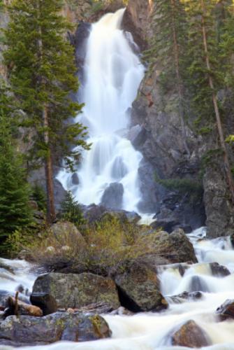 Fish creek falls steamboat springs co a natural for Fish creek falls