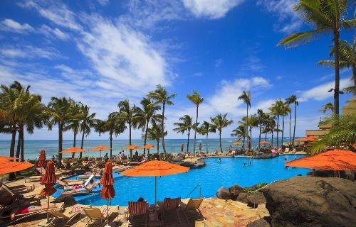 Opened In June 1971 The Sheraton Waikiki Occupies A Prominent Position On Honolulus Most Famous Beach White Sands Front Of Resort Stretch For
