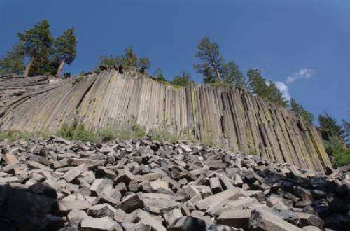 Devils Postpile National Monument in California is a Unique ...
