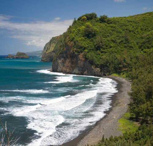 Pololu Valley Lookout Halaula Big Island Hawaii Scenic Vista On The North Kohala Coast