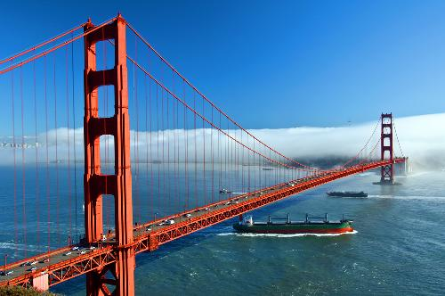 Golden Gate Bridge San Francisco California Enduring Symbol Of