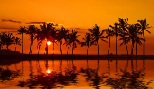 Konas Kohala Coast And Known As A Bay Among Local Residents Anaehoomalu Is Renowned For Its Sandy Beach Calm Waters Spectacular Sunsets