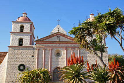 Mission Santa Barbara in California is an Important Piece of ...