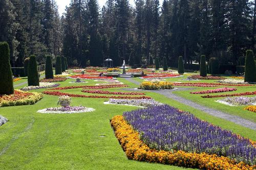 Manito Park Duncan Garden - Gaiser Conservatory - Spokane,… | Flickr