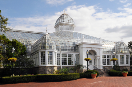 Located Two Miles East Of Downtown Columbus, Ohio, The Franklin Park  Conservatory And Botanical Garden Is A Horticultural And Educational  Attraction That Is ...