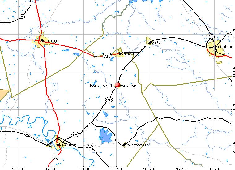 round top texas tx profile population maps real estate