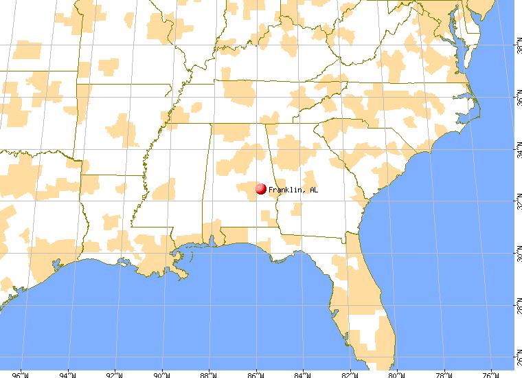 Franklin, Alabama (AL 36075, 36083) profile: population, maps, real ...