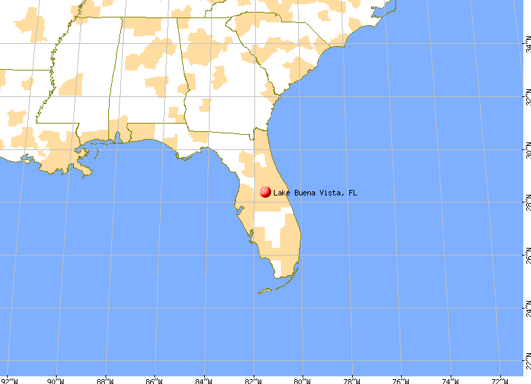Lake Buena Vista Florida FL 32836 profile population maps real