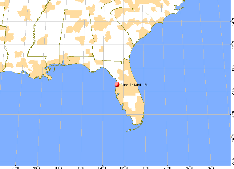 Pine Island Florida Map | compressportnederland