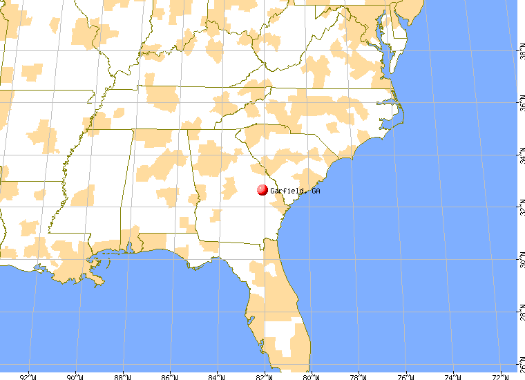 Garfield Georgia GA Profile Population Maps Real - Ga map google