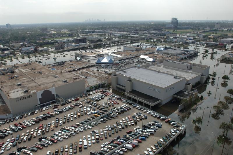 New Orleans: Louisiana Hurricane Katrina (DR-1603) - Aerial, Hurricane ...