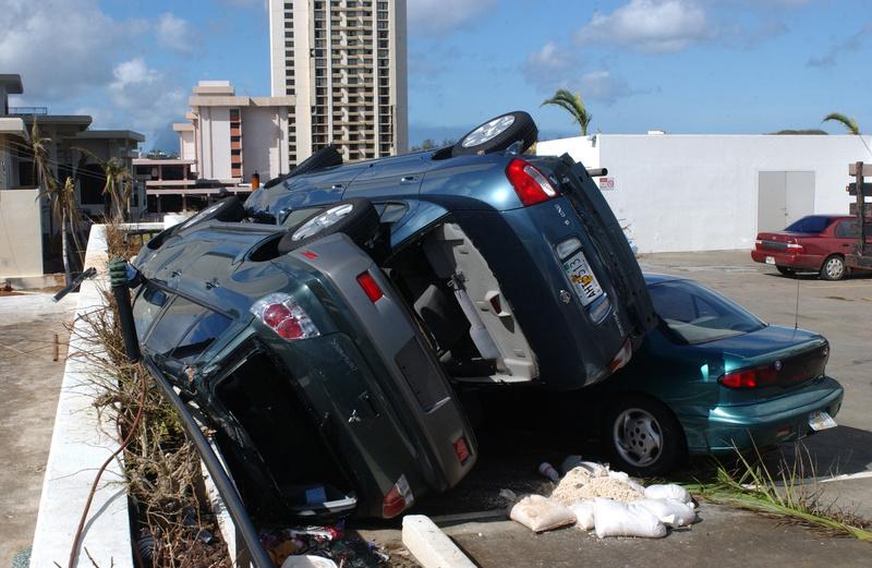 Guam super typhoon pongsona dr 1446 typhoon natural diasaster