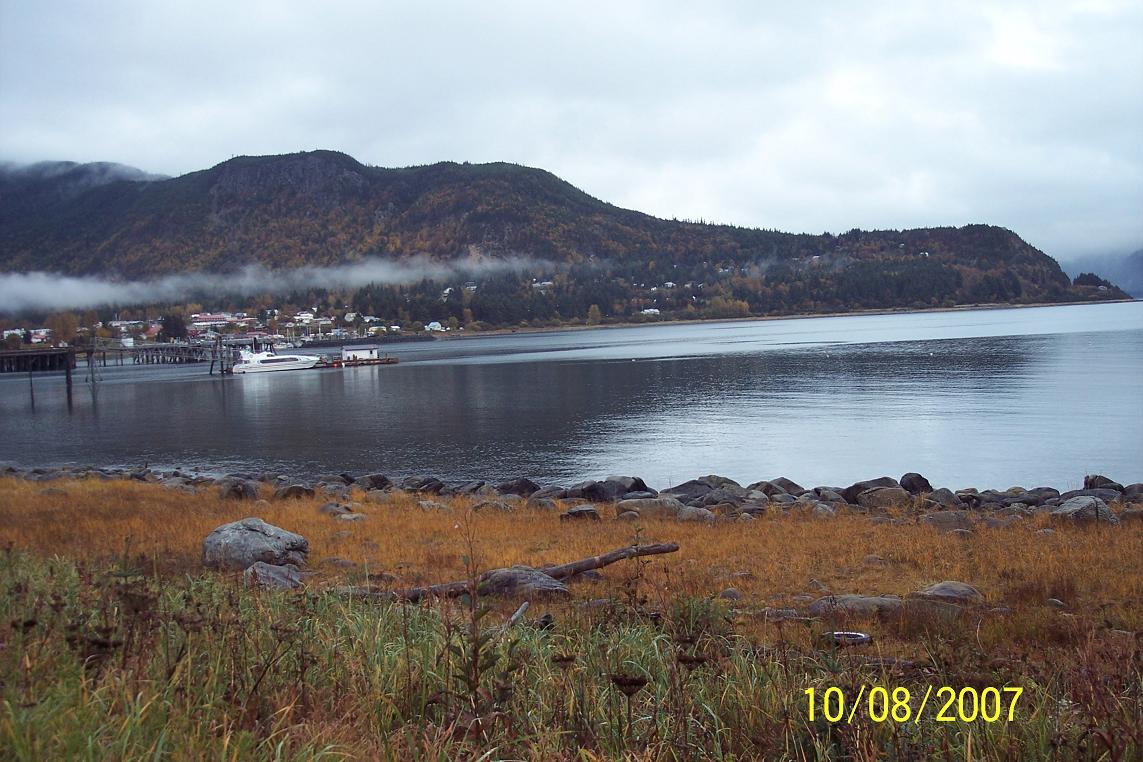 Alaska haines county - Haines Alaska Looking Down Haines Harbor Jpg