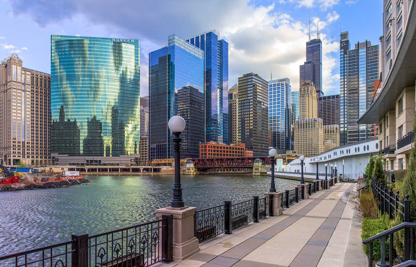 Charmant ... What U.S. City Has The Best Architecture? Chicago River Looking Toward