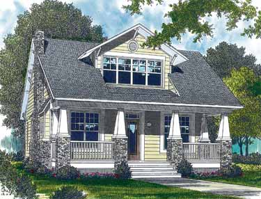 Carriage house plans craftsman style home plans for Craftsman style architecture