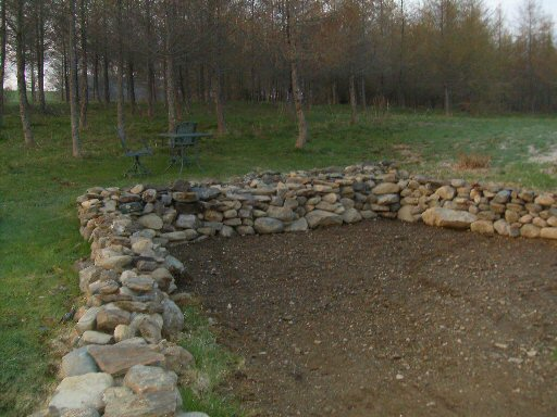 Cost Of Stone Wall Patio Build Small
