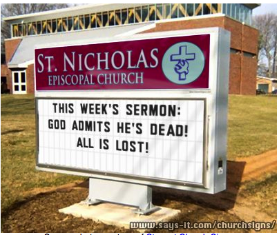 funny church signs. Funny church sign (Kingdom,