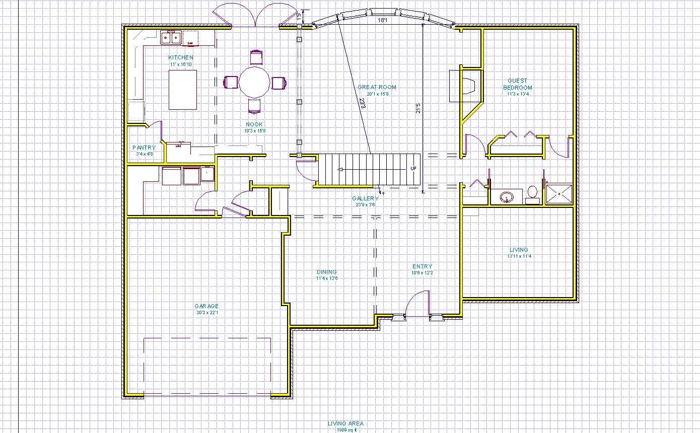 Blueprint builder for Obtaining blueprints for your home
