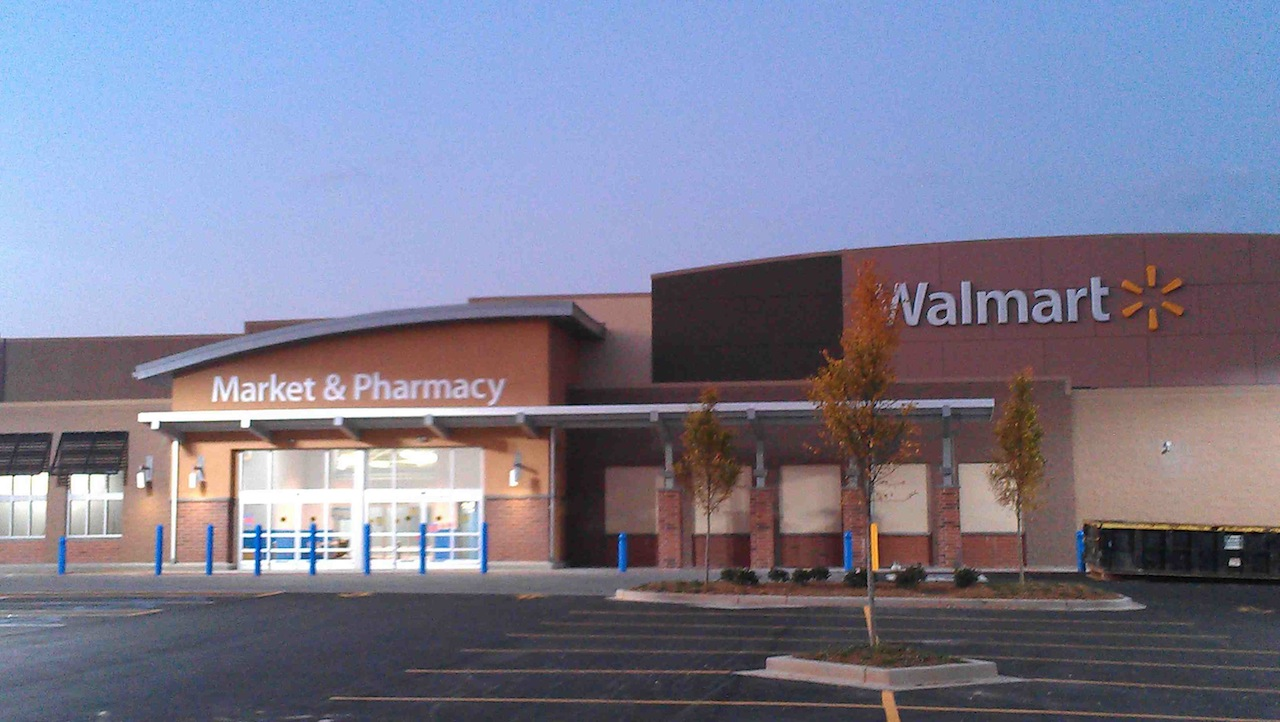The gallery for --> Walmart Supercenter Store