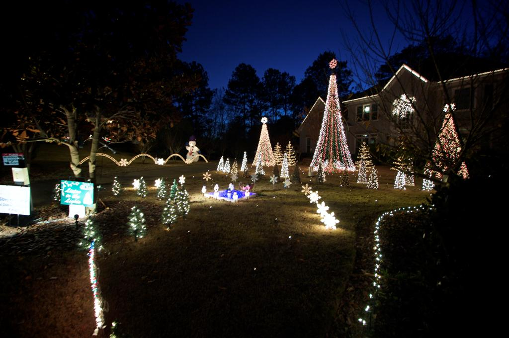 Where To See Great Christmas Lights Kenn Ga Atlanta