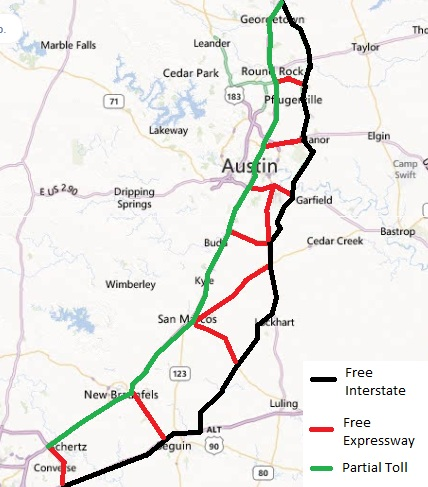 Dont most Austinites Oppose Toll Roads drive worth  Texas