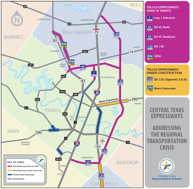 Are New Highways In The Plans For Austin Or The Upgrading