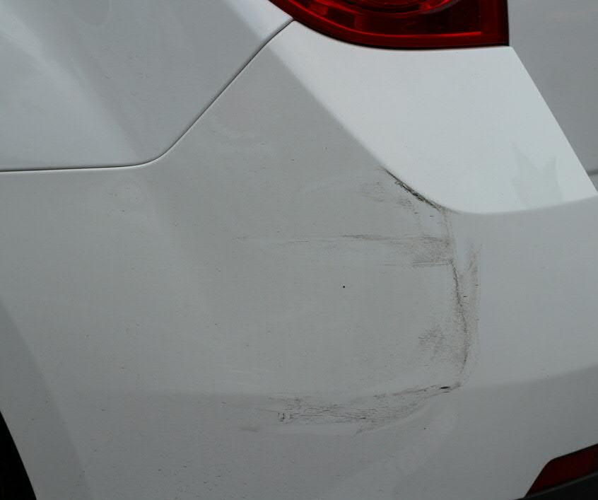 Bumper Scratch Paint Job Advise Insurance Driving Record Sell