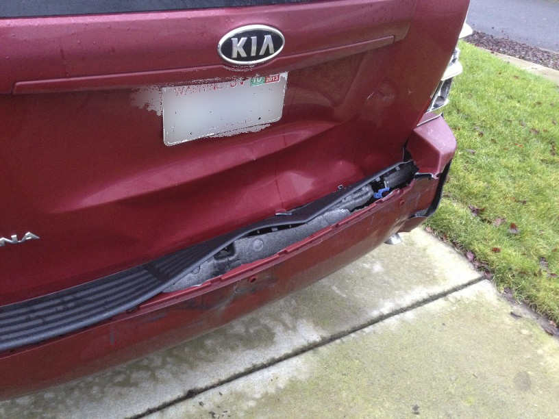 I was rear ended. Need help with options (rental, insurance, vehicle ...