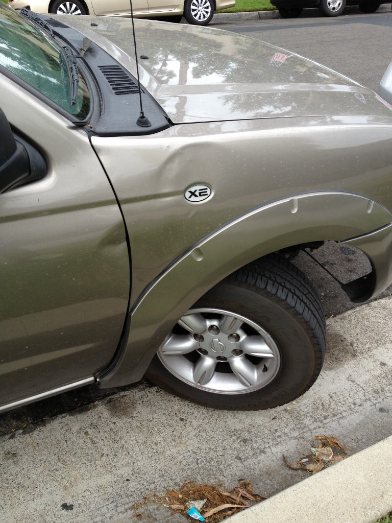 Selling my car, how much will this damage cost me? (best, truck ...