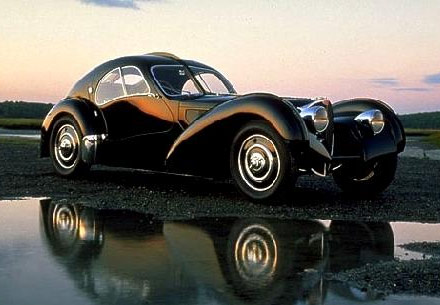 Bugatti on Ten Most Beautiful Cars Of All Time 22 Bugatti Type 57 Atlantic Jpg