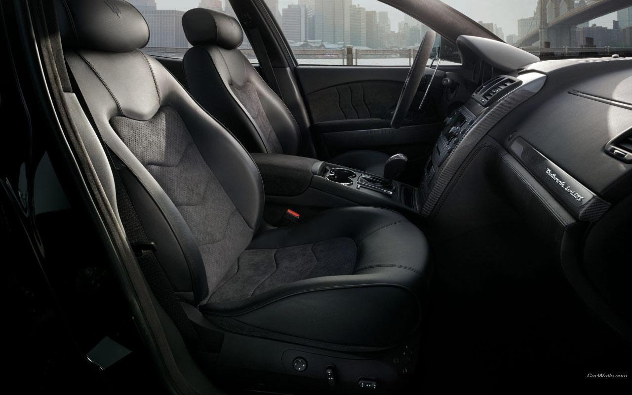 Best Car Interior ???? Maserati_quattroportgreyinterior