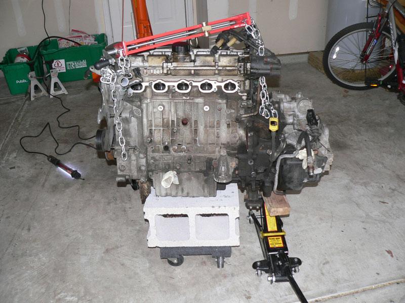 Installing torque converter (engine, costs, leaking, pump