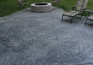 Poured concrete patio price? (Summerville: home, new construction ...