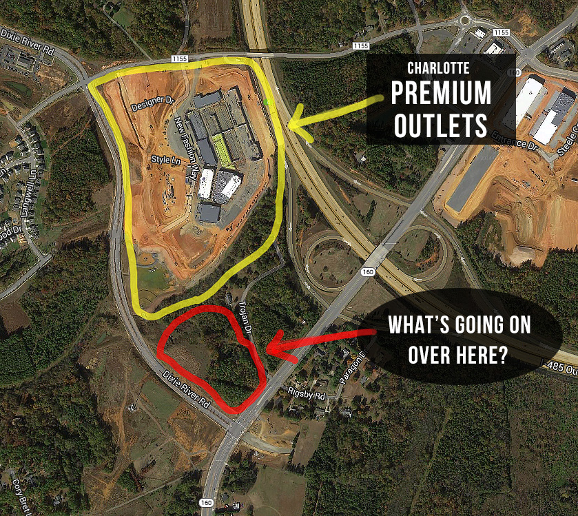 New Restaurants Near Charlotte Premium Outlets Star 2014