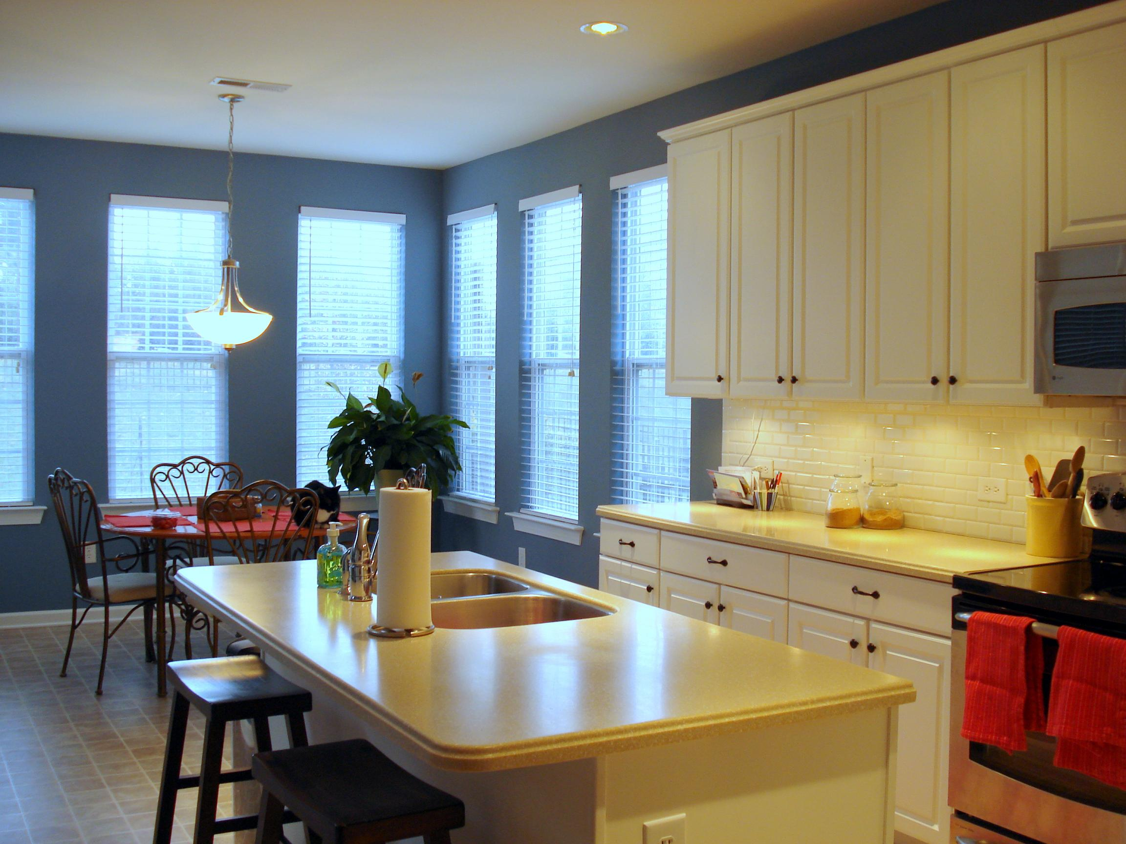 Kitchen Updates- Modest and Budget Friendly (hardwood floors, how ...