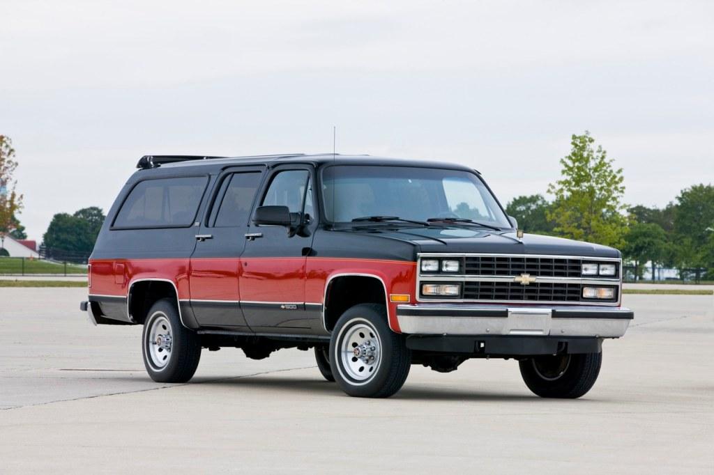 1973-1991 GMC/Chevy Suburbans vs today's Suburbans (luxury