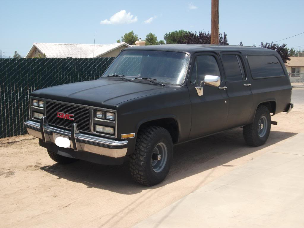 What color should i go for my 1990 gmc suburban 4x4