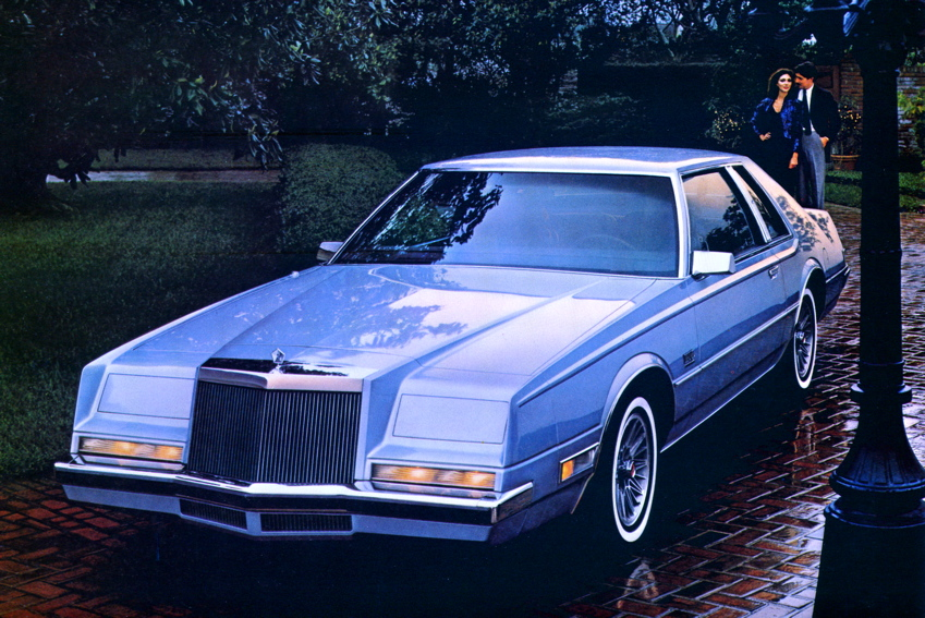 1981 American luxury coupes Cadillac Lincoln and Imperial