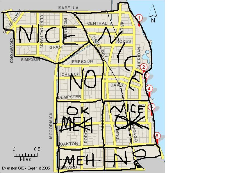 Evanston good and bad areas (Chicago, Wilmette: condos, crime ...