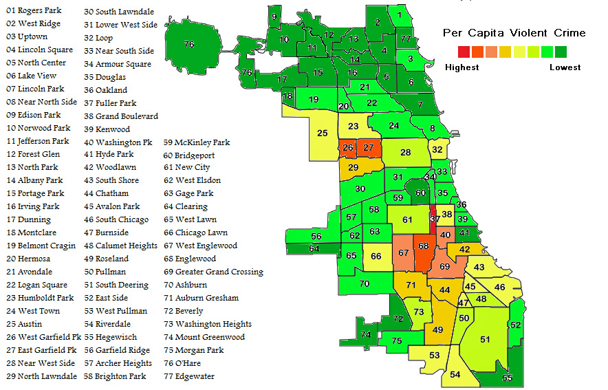 Is The Crime Rate In Chicago Exaggerated Victoria 2015
