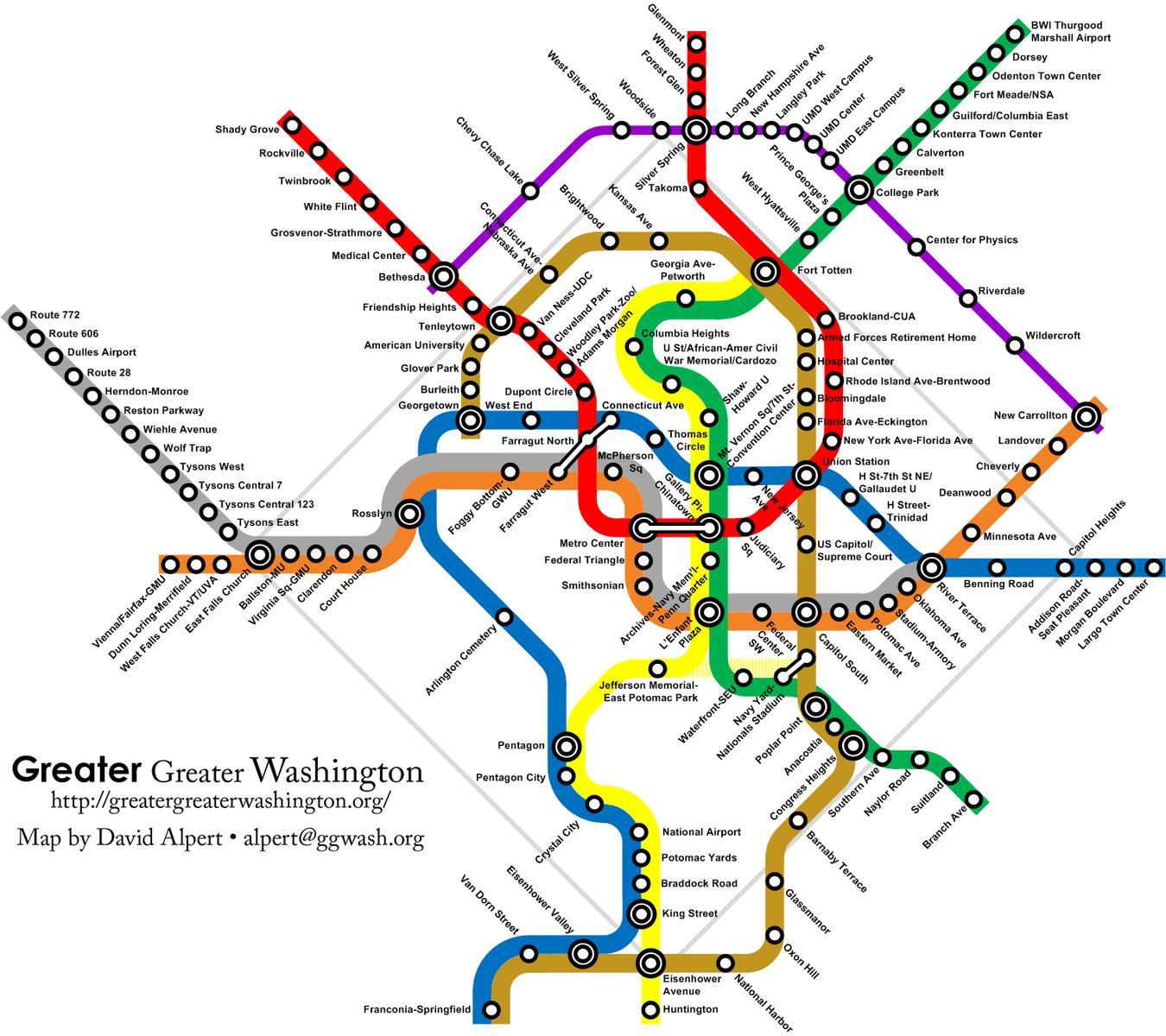 Similiar Washington DC Subway System Map Keywords
