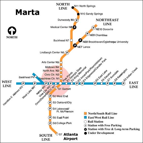 Marta Map Atl