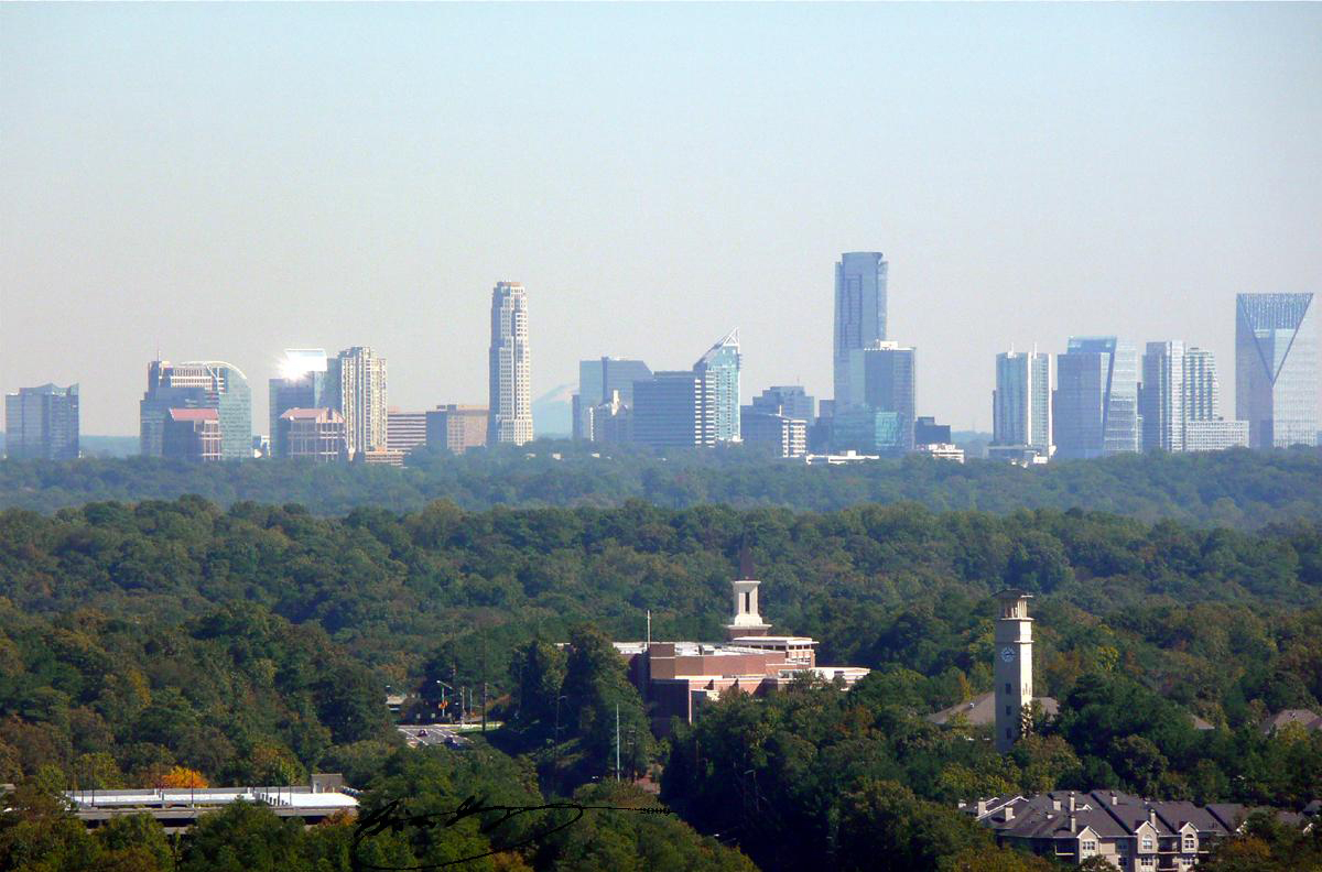 Us city skylines ranked best state america atlanta for Us city skylines photos