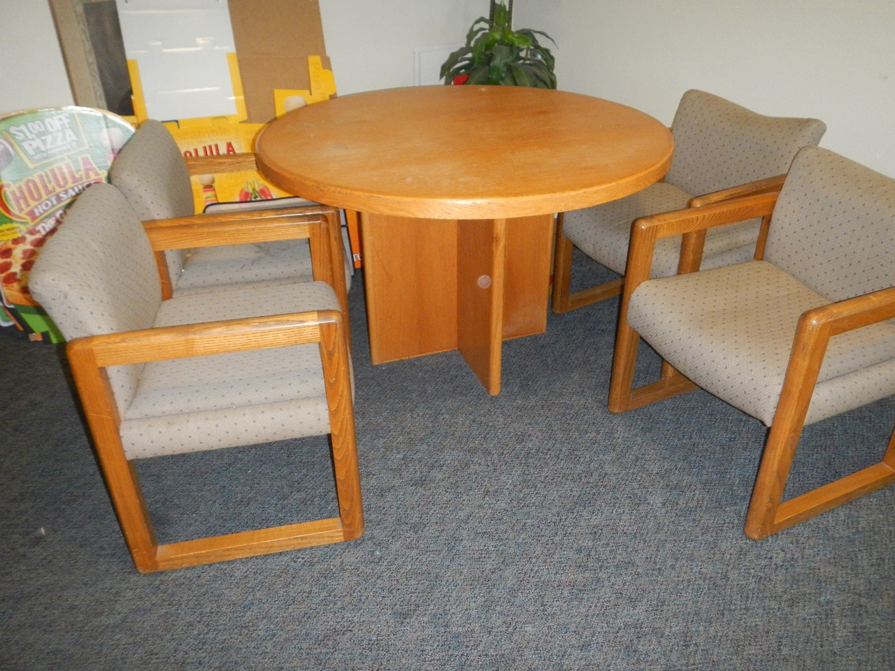 ... Office Moving: Furniture For Sale In Santa Ana, CA Round Oak