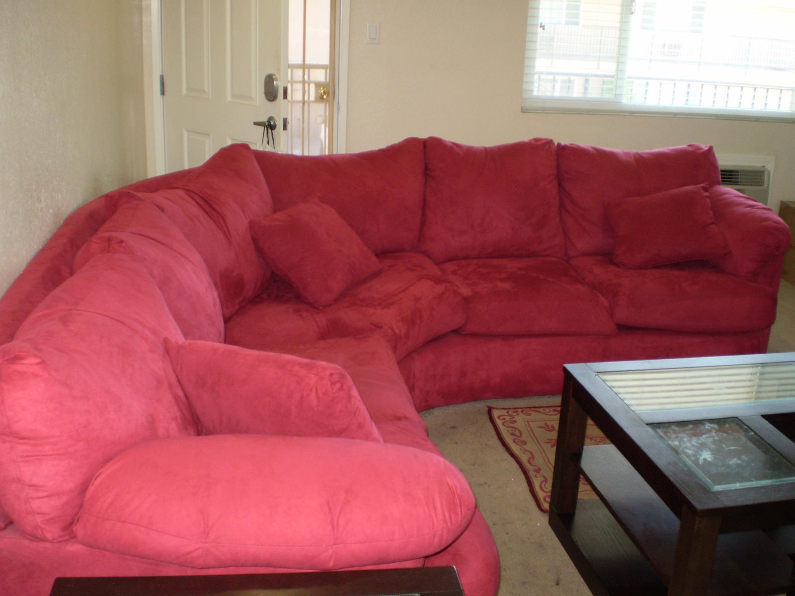 Merveilleux Sectional Sofa/refrig Near Long Beach Ca Move Sale 003