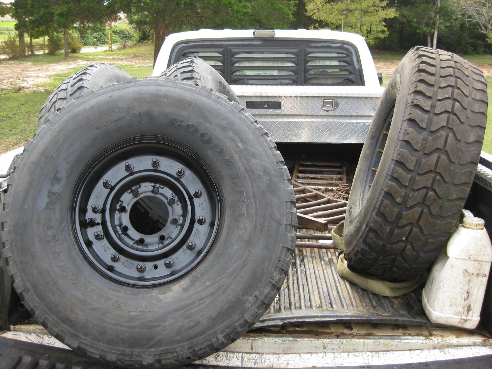 FS: (5) H1 Hummer 8-Lug Wheels 37
