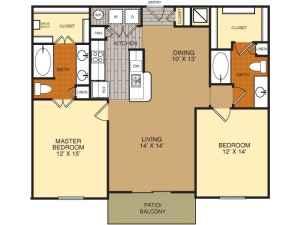 1960 2br 1 200 sq ft luxury apartment quarry for 1200 square foot apartment floor plans